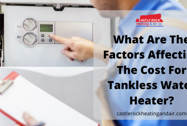 Tankless water heater cost