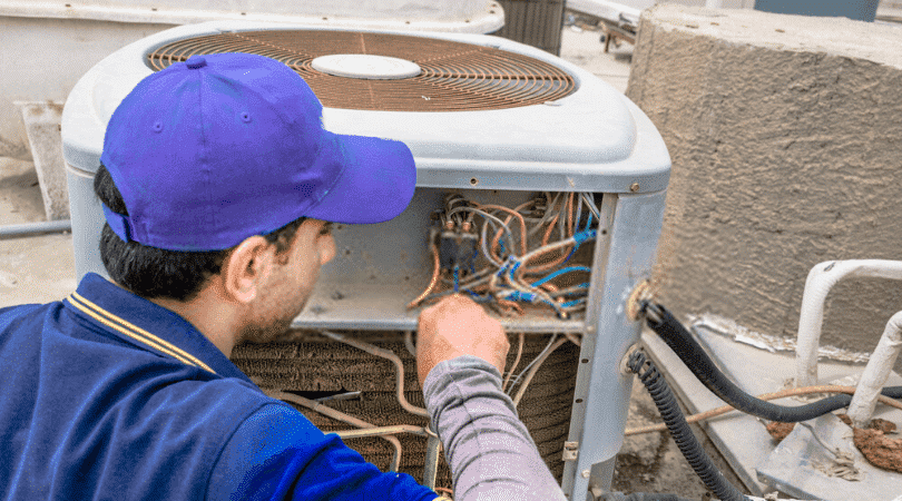 Tips For Central AC Maintenance Working