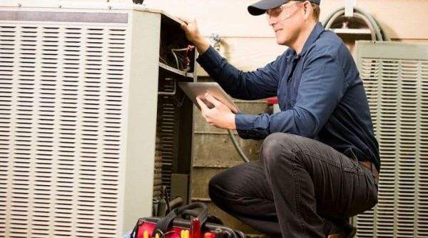 HVAC unit repair