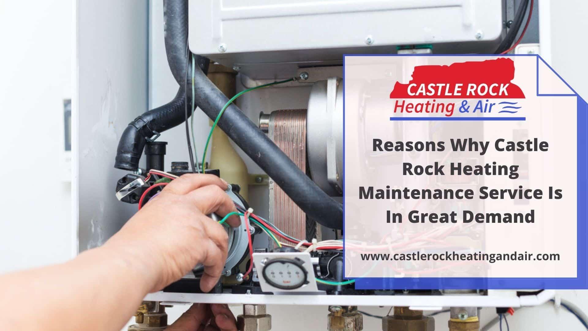 castle rock heating maintenance