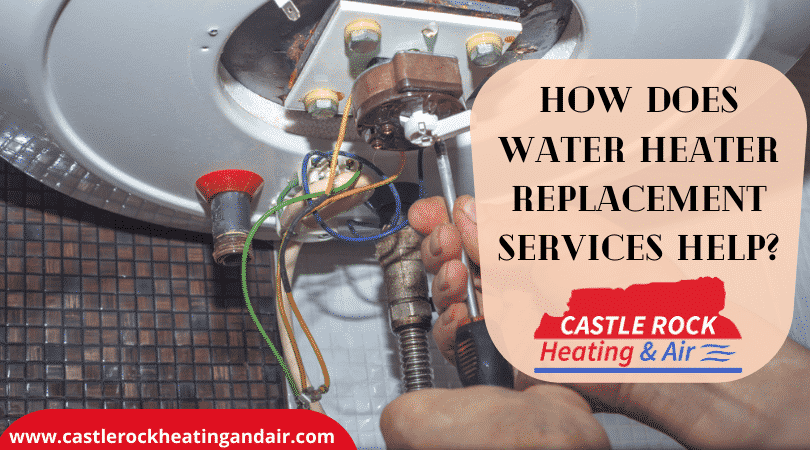 water heater replacement services Castle Rock